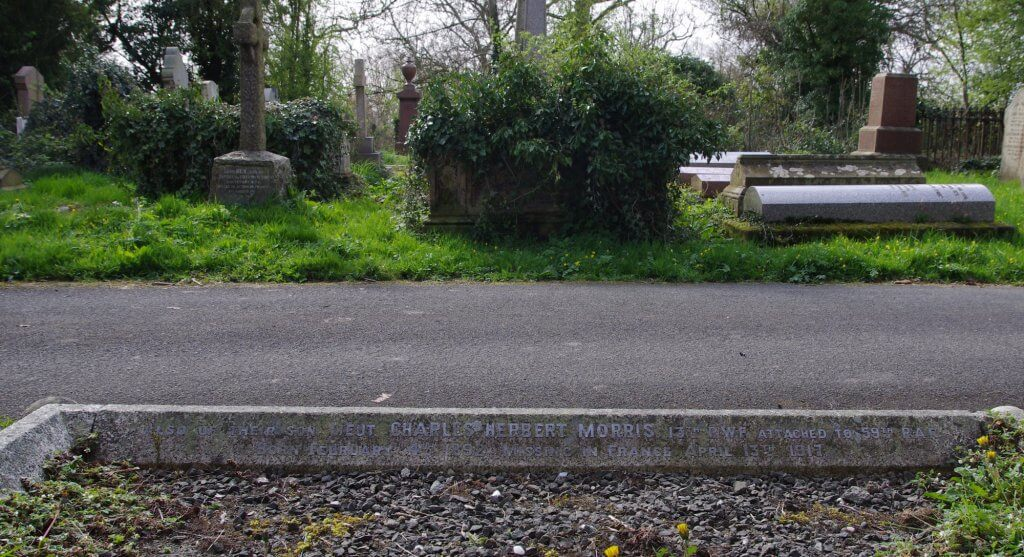charles herbert morris headstone