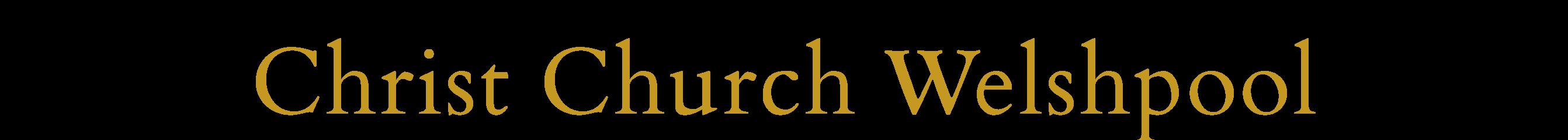 Christ Church Welshpool