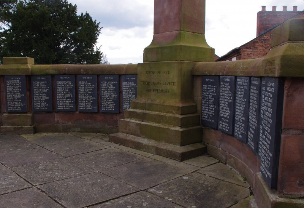 Welshpool War Memorial