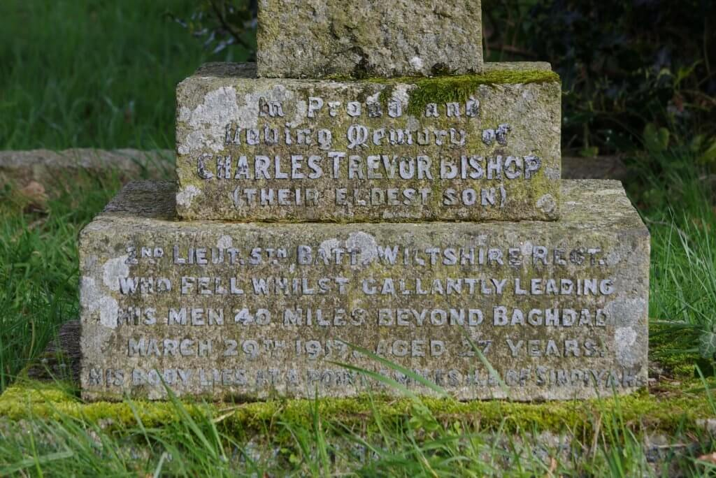 Charles Trevor Bishop memorial inscription