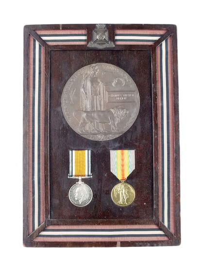 charles trevor bishop war medals