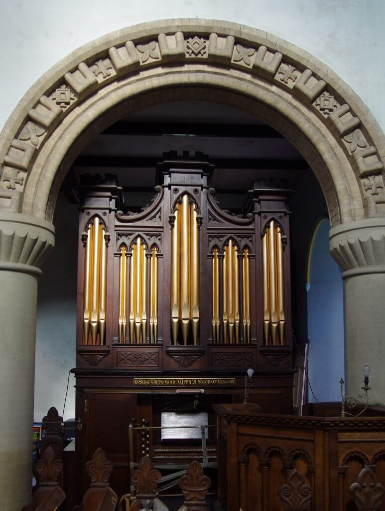 william gray organ at christ church